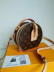 Женская сумка Louis Vuitton круглая