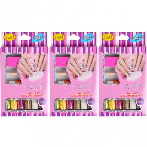 Набор для декорирования ногтей НЕОН 2068