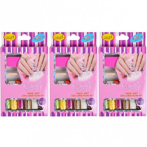 Набор для декорирования ногтей НЕОН 2068, фото 2