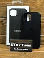 Чохол для iPhone Apple iPhone 11 Pro Leather Case Black