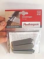 Auhagen 48603Бетонные переходные площадки, масштаба H0 1:87