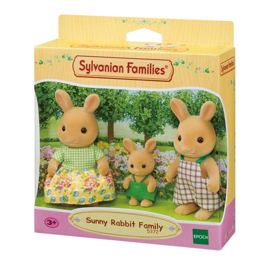 Sylvanian Families Сім'я Сонячних Кроликів 5372