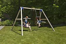 Дитячий майданчик з гойдалками Blue Rabbit FREESWING, фото 2