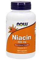 Витамины Now Foods - Niacin (100 капсул)