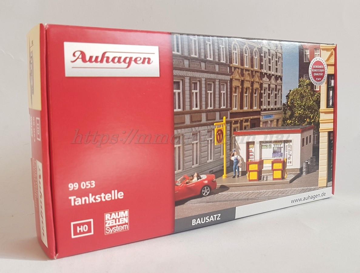Auhagen 99053 Сборная модель - бензоколонка для автомобилей,масштаба 1:87, H0