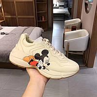 Кроссовки Rhyton Disney Gucci