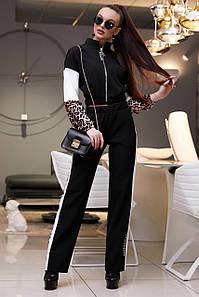 Женский спортивный костюм с короткой кофтой (3978-3876-3977 svt)