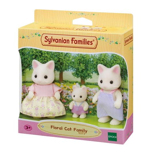 Sylvanian Families Семья Цветочных Котов   5373