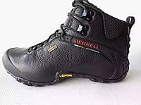 Ботинки меррелл merrell высокие черн.