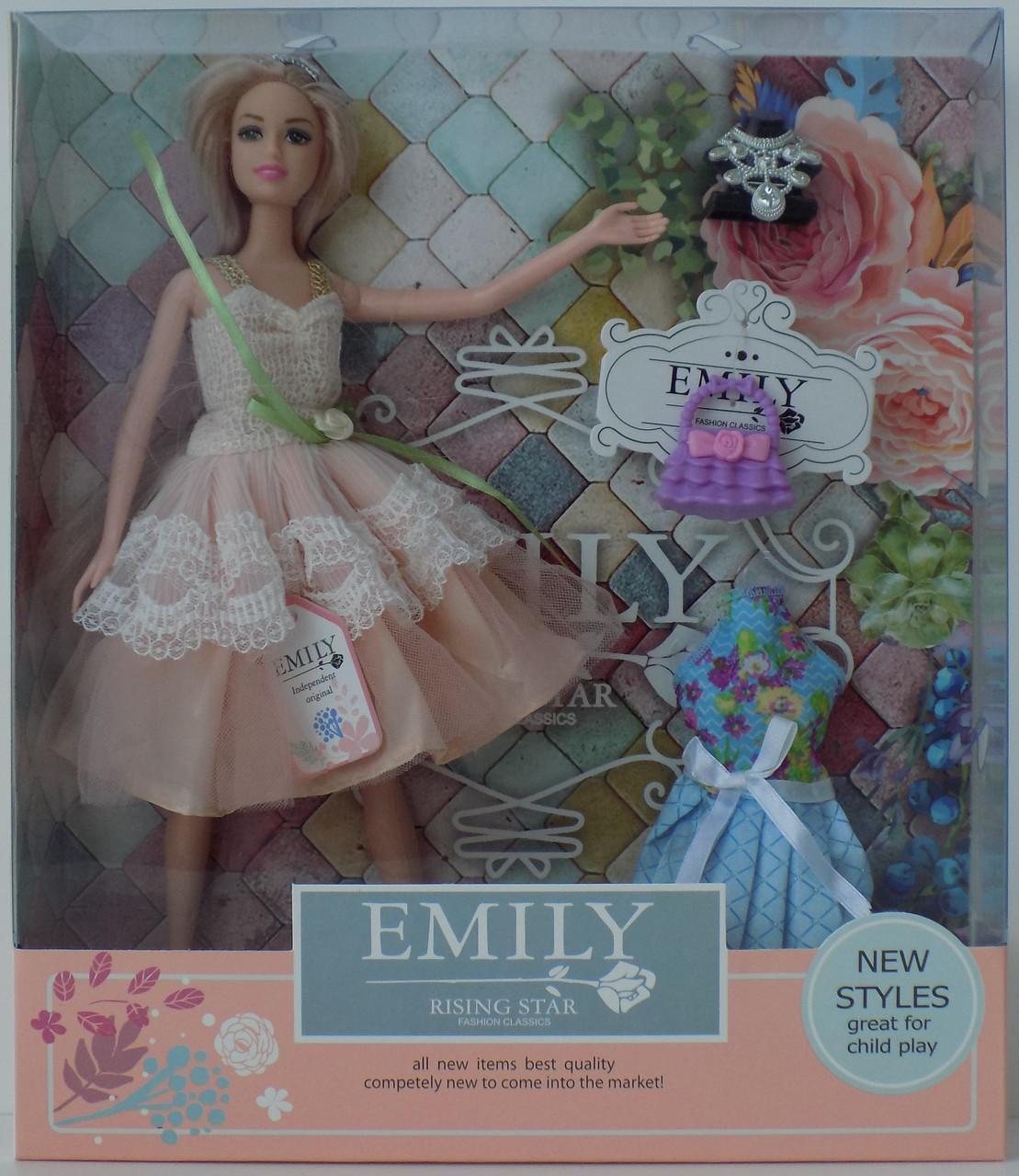 Шарнирная кукла Emily QJ077C