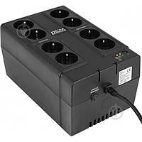 ДБЖ PowerCom CUB-850N Schuko 4+4
