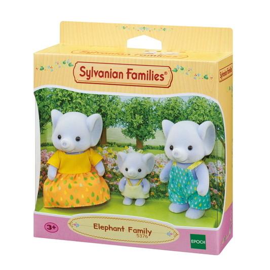 Sylvanian Families Сім'я Слонів 5376