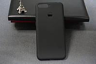 Чехол бампер силиконовый Huawei Y6 2018 (ATU-L21) Хуавей цвет черный Soft-touch