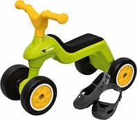 Ролоцикл Big для катания малыша с защитными насадками, зелёный