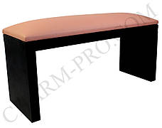 Маникюрная подставка для рук (Подлокотник) Розовая на черных ножках