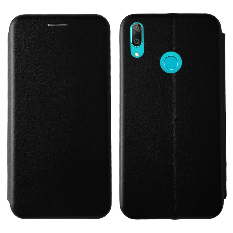 Чохол Book Cover Level Huawei Y7 2019 Black