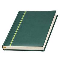 Ежедневник 'Ривьера' зеленый Lediberg ТМ Италия под нанесение логотипов на обложке, фото 1