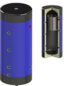 Теплоаккумулятор Werden800 с утеплителем и змеевиком