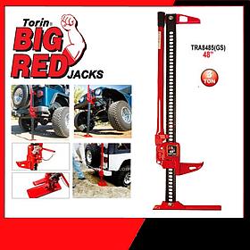 Домкрат реечный для внедорожника, бездорожья, квадроциклов, тракторов (хайджек) 3т 125-1020мм TORIN  TRA8485