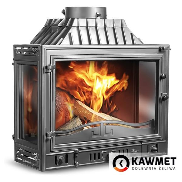 Каминная топка KAWMET W4 трехсторонняя (14.5 kW)