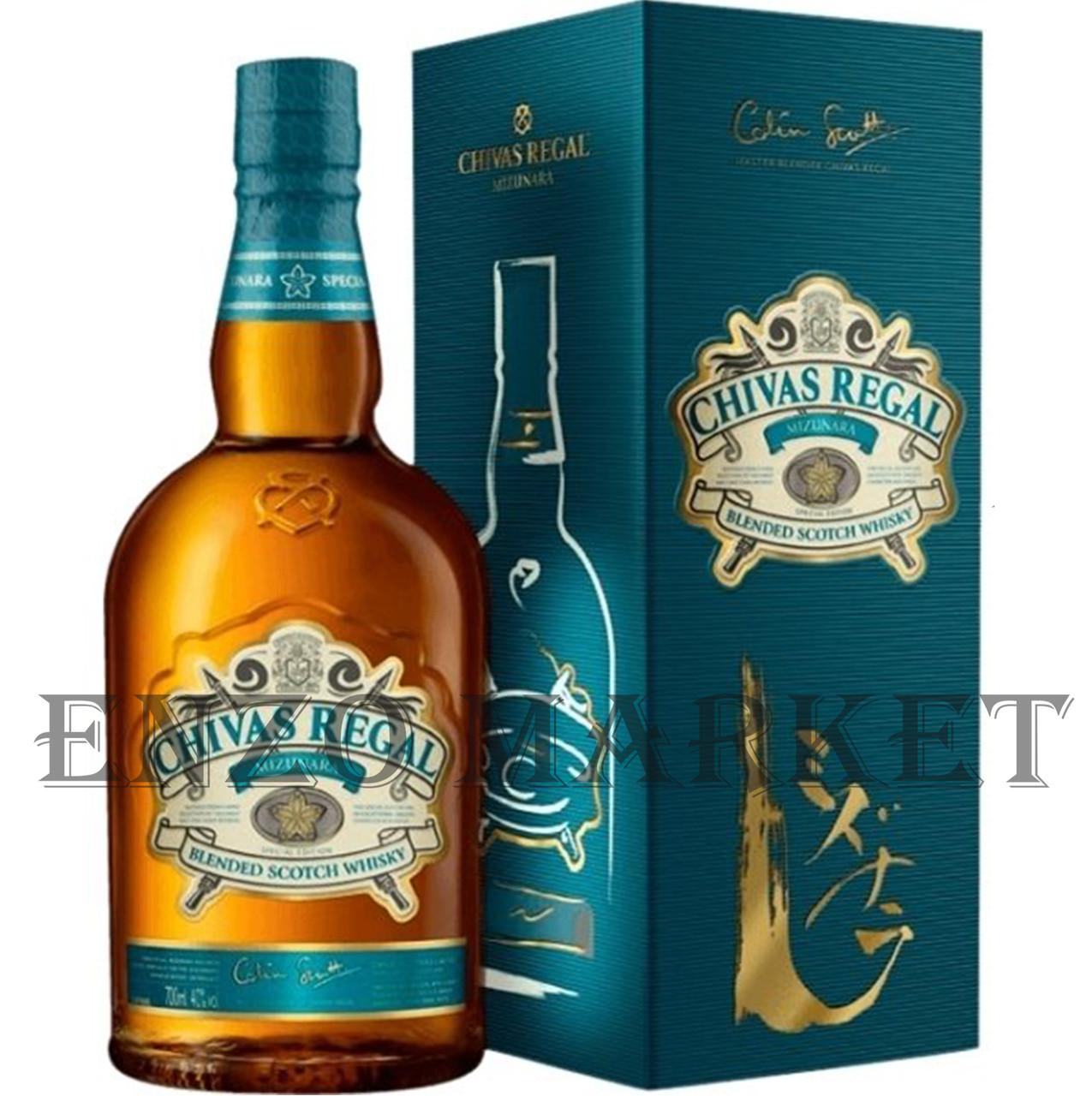 Виски Chivas Regal Mizunara (Чивас Ригал Мизунара) 40%, 0,7 литра