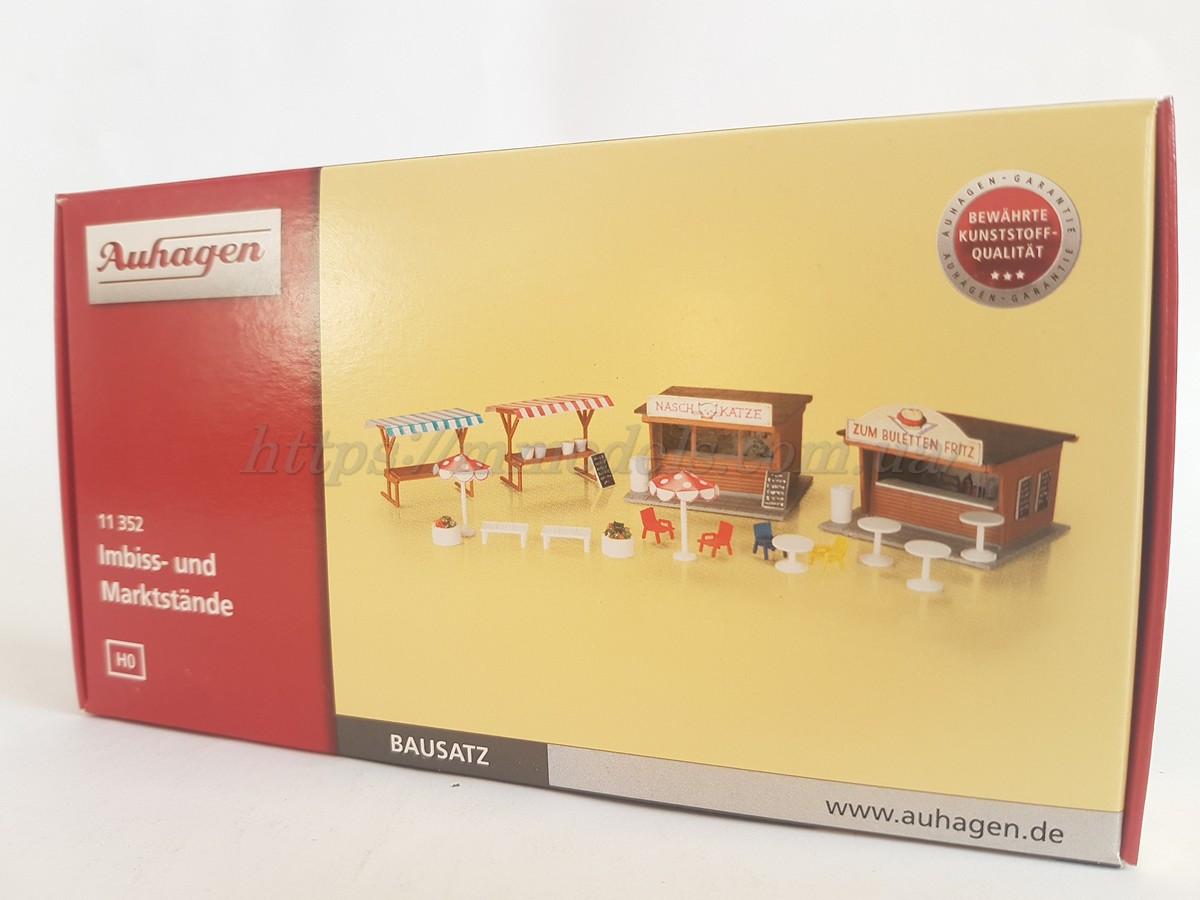 Auhagen 11352 Модели для сборки - Закусочные и рыночные прилавки, масштаба 1:87,H0