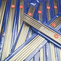 Комплект спиць для плетення, панчішні, 20 см. Комплект чулочных спиц для вязания,20см
