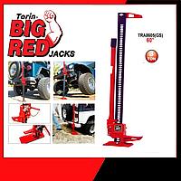 Реечный домкрат для внедорожника, бездорожья, квадроциклов, тракторов (хайджек Hi jack) 3т TORIN TRA8605