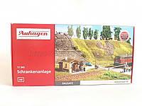 Auhagen 11345Железнодорожный переезд для детской железной дороги,масштаба H0 1:87, фото 1
