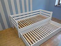 Кровать из натурального дерева детская Панда 2 (200х90)