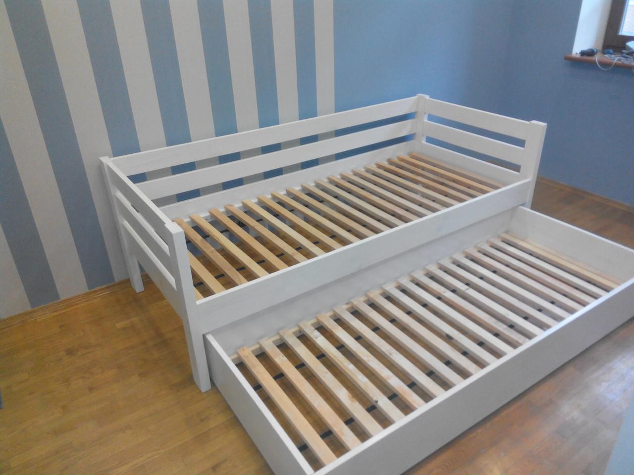 кровать из натурального дерева детская панда 2 200х90 продажа