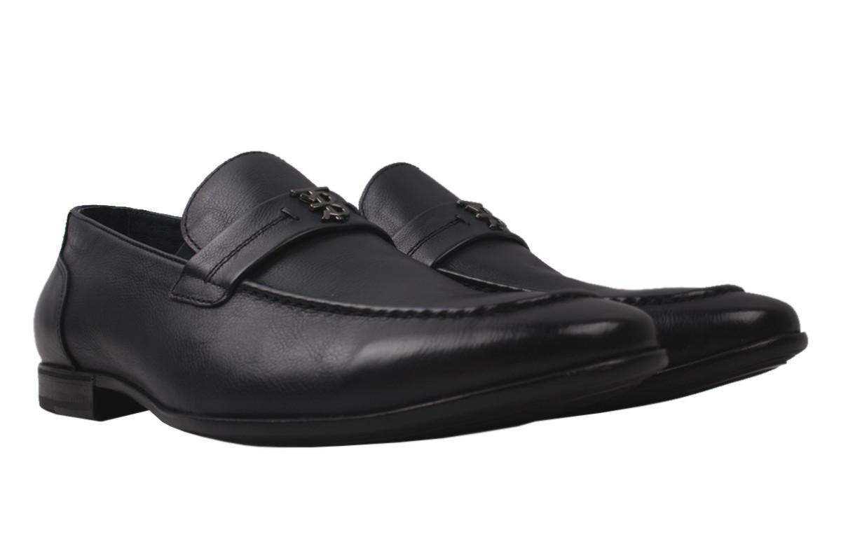 Туфлі чоловічі Cosottinni натуральна шкіра, колір синій, розмір 39-45