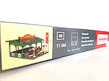 """Auhagen 11366 Сборная модель """"Пивной сад"""", масштаба H0,1/87, фото 2"""