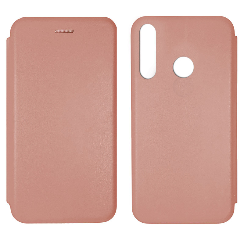 Чохол Book Cover Level Huawei P Smart Plus 2019 Rose Gold