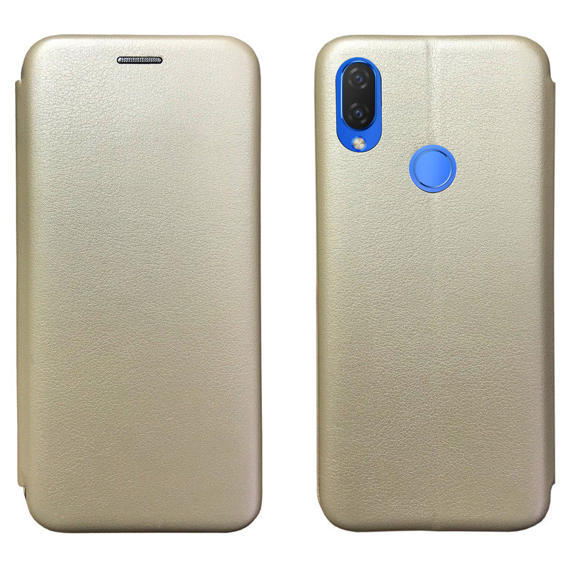 Чехол Book Cover Level Huawei P Smart 2019 Gold