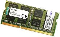 Оперативная память для ноутбука Kingston SODIMM DDR3 8Gb 1333MHz 10600s CL9 (KTH-X3B/8G) Б/У, фото 1