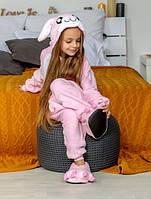Костюм кигуруми для детей Розовый Зайка