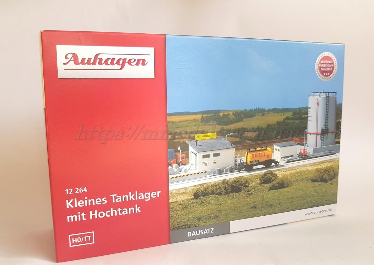 Auhagen 12264, Нефтебаза с высоким баком, модель масштаба H0 / TT