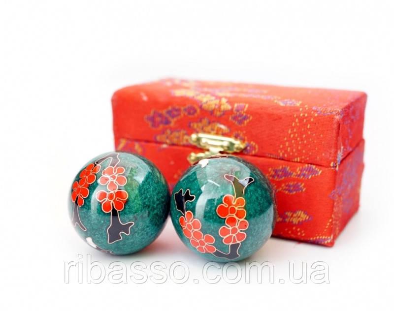 9290016 Массажные шары Баодинга пара Эмаль Сакура