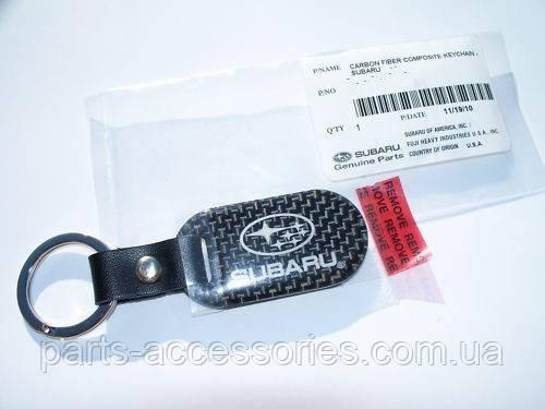 Брелок на ключи Subaru углеродное волокно Carbon оригинал Subaru