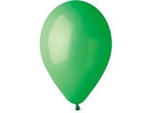 Воздушный шар без рисунка 26 см зеленый