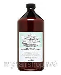 Шампунь-скраб детоксицирующий DAVINES NATURAL TECH Detoxifying scrub shampoo 1000 мл