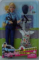 Кукла шарнирная DEFA полиция 8388