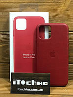 Чехол для iPhone Apple iPhone 11 Pro Leather Case PRODUCT RED