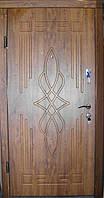 Входная дверь модель П4-296 светлый орех