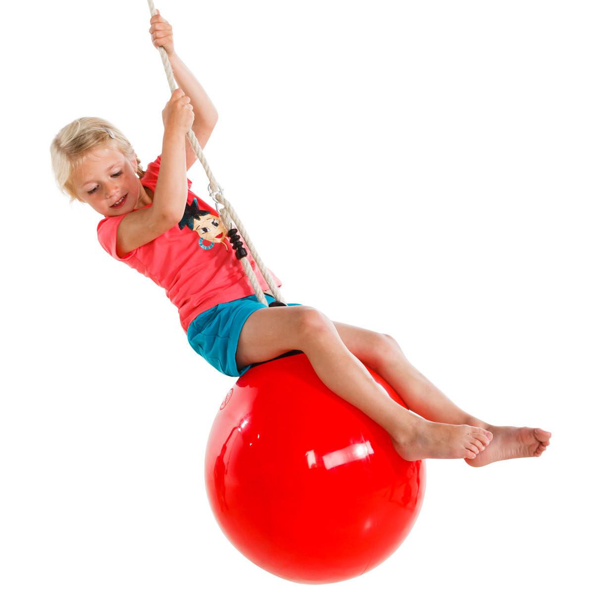 Дитячі гойдалки надувні Куля KBT Drop Червоний