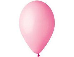 Воздушный шар без рисунка 26см розовый