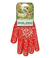 Перчатки рабочие DOLONI с точкой ПВХ ЖЕНСКАЯ, фото 1