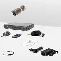 Комплект проводного видеонаблюдения Страж AHD Мини