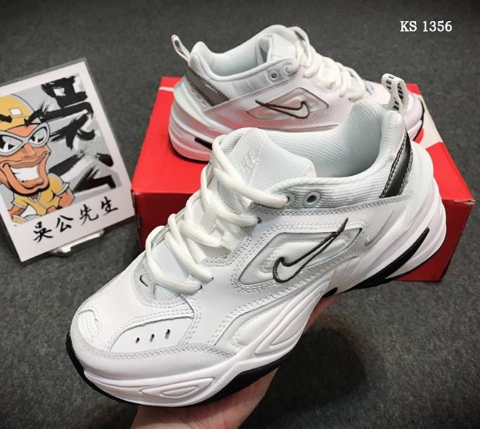 Кросівки чоловічі Nike M2K Tekno, білі / чоловічі кросівки Найк (Топ репліка ААА+)
